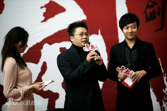 剧照-图文:新亮剑发布会-浙江卫视总监夏陈安