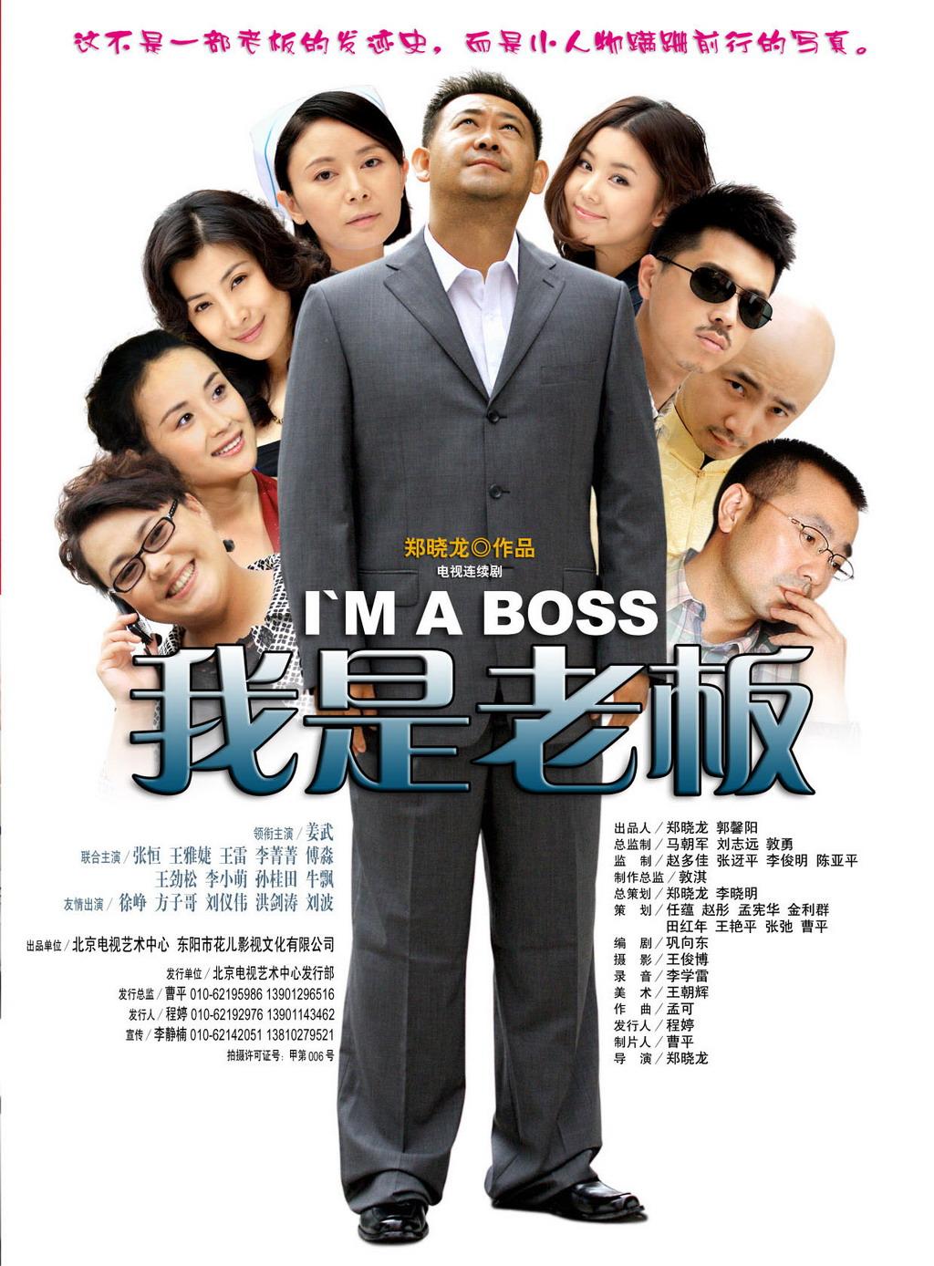 电视剧我是老板精美海报