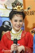 剧照-图文:大唐女巡按剧组做客--接受采访